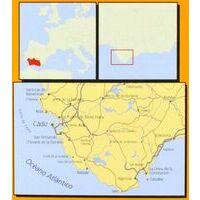 Geo Estel Maps Wegenkaart T16 Costa De La Luz Cadiz 1:150.000
