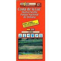 Geo Estel Maps Wegenkaart T17 Costa De La Luz (Huelva) 1:150.000