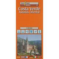 Geo Estel Maps Wegenkaart T21 Costa Verde, Asturie Oost 1:150.000