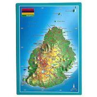 Georelief Maps Reliefpostkaart Mauritius
