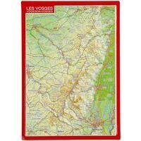 Georelief Maps Reliëfpostkaart Vogezen