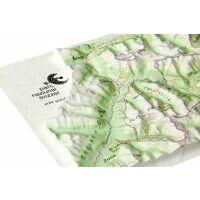 Georelief Maps Reliefpostkarte Nationaal Park Zwitserland