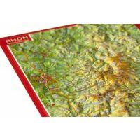 Georelief Maps Reliëf Ansichtkaart Rhön