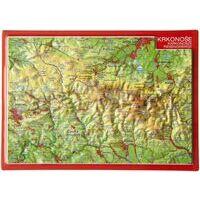 Georelief Maps Reliëf Ansichtkaart Riesengebirge