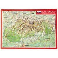 Georelief Maps Reliëf Ansichtkaart Slowakije