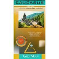 Gizi Map Geografische Kaart Kaukasus