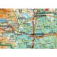 Gizi Map Landkaart 1 Zuidelijk China