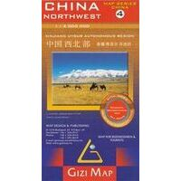 Gizi Map Landkaart China 4 Noord-West