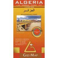 Gizi Map Wegenkaart Algerije Geografisch