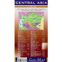 Gizi Map Wegenkaart Centraal Azië