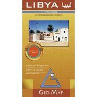 Gizi Map Wegenkaart Libië Geografisch
