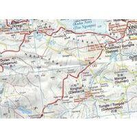 Gizi Map Wegenkaart Kaukasus
