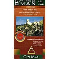 Gizi Map Oman & Verenigde Arabische Emiraten