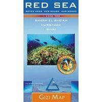 Gizi Map Landkaart Rode Zee Regio