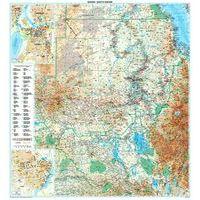 Gizi Map Wegenkaart Sudan & Zuid-Sudan