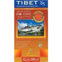 Gizi Map Tibet Geografische Kaart