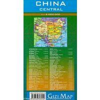 Gizi Map Wegenkaart 2 China Centraal