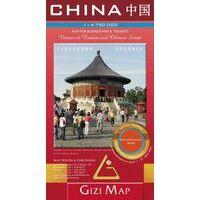 Gizi Map Wegenkaart China Geografisch