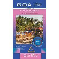 Gizi Map Wegenkaart Goa