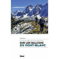 Glenat Wandelgids Les Plus Randonnees Sur Les Balcons Du Mont-Blanc