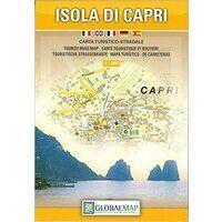 Global Map Wandelkaart Isola Di Capri