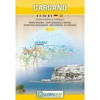 Global Map Wegenkaart Gargano
