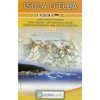 Global Map Wegenkaart Isola D'Elba 1:30.000