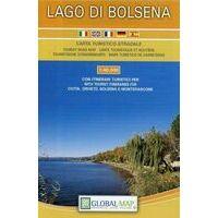 Global Map Wegenkaart Lago Di Bolsena 1:40.000