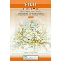 Global Map Wegenkaart Provincie Rieti