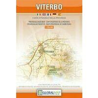 Global Map Wegenkaart Provincie Viterbo