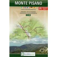 Global Map Wandelkaart Monte Pisano 1:25.000