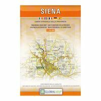 Global Map Wegenkaart Provincie Siena