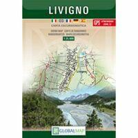 Global Map Wandelkaart Livigno