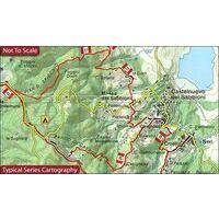Global Map Wandelkaart San Gimignano - Volterra