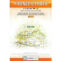 Global Map Wegenkaart Provincie Firenze E Prato