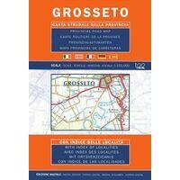 Global Map Wegenkaart Provincie Grosseto