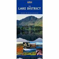 Goldeneye Maps Lake District Mapguide 1:100.000