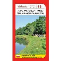 Grote Routepaden Wandelgids GR12 Amsterdam-Parijs Deel Vlaanderen-Brussel