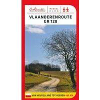 Grote Routepaden Wandelgids GR128 Vlaanderenroute Van Heuvelland Tot Voeren
