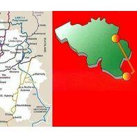 Grote Routepaden Wandelgids GR5 Mer Du Nord Noordzee - Middellandse Zee
