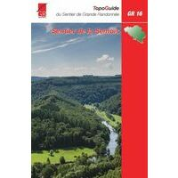 Grote Routepaden Wandelgids GR16 Sentier De La Semois