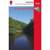 Grote Routepaden Wandelgids GR57 Sentiers De L'Ourthe