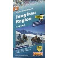 Kummerly En Frey Wintersportkaart 2 Jungfrau Region