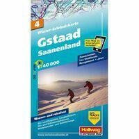 Kummerly En Frey Wintersportkaart 4 Gstaad