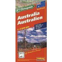 Hallwag Australië Wegenkaart