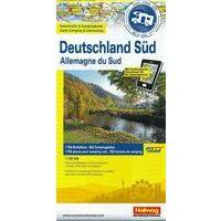 Hallwag Camperkaart Zuid-Duitsland 1:700.000