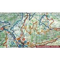 Hallwag Mountainbikekaart 6 Gstaad