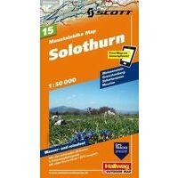 Hallwag Mountainbikekaart 15 Solothurn
