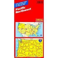 Hallwag Wegenkaart 01 Pacific Northwest