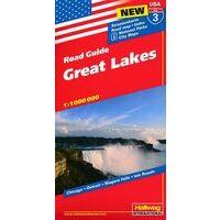 Hallwag Wegenkaart 03 Great Lakes